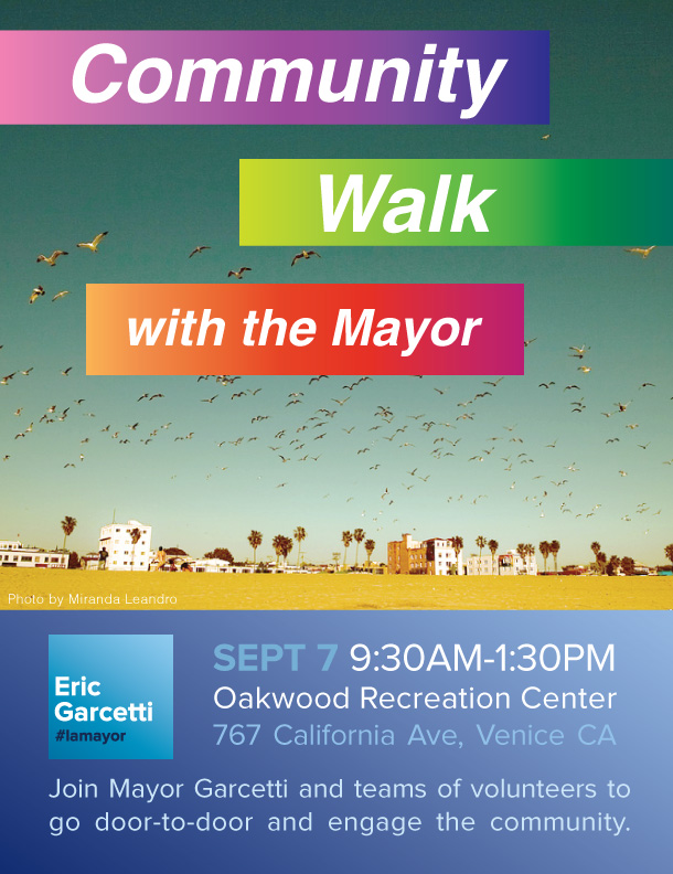 7.7.13MayorGarcetti-Walk with the MayorFlyer.