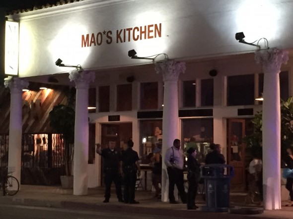 Mentally Ill Man Grabs Two Knives, Threatens Patrons In Mao\'s Kitchen